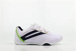 Mercury Boys Velcro Trainers Navy/Lime/White