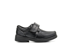 US Brass Boys Velcro Fastening School Shoes