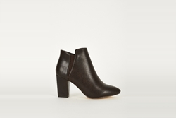 Womens Ankle Boots With Stretch Side Panels