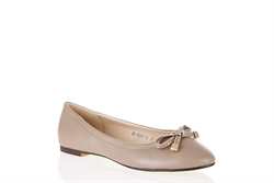 Womens Ballerina Shoes With Bow Detail