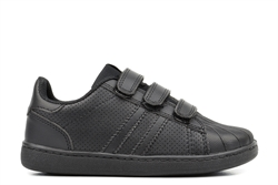 Mercury Kids Velcro Touch Fasten School Trainers Black