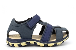 Boys Touch Fastening Closed Toe Summer Sandals Navy