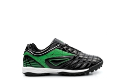 Ascot Boys Astro Turf Football Trainers Black/Green