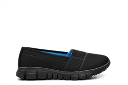 Dek Womens Superlight Casual Shoes With Memory Foam Insole Black