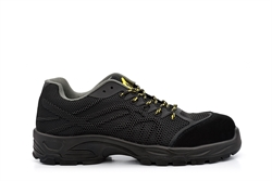 Tradesafe Mens Safety Trainers With Composite Toe Cap Black