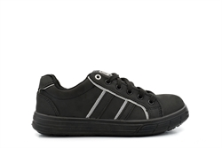 Grafters Skate Style Safety Trainers With Composite (Non Metal) Midsole Black