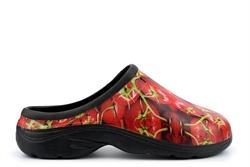 Womens Garden Shoes Tomato Print