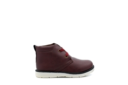 Chatterbox Boys Lace Up Ankle Boots Brown