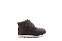 Chatterbox Boys Twin Velcro Ankle Boots Brown