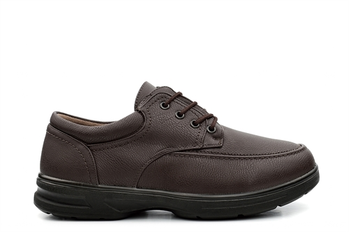 Dr Keller Mens Wide Fit Casual Shoes Brown