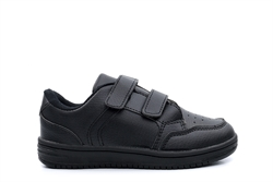 Boys School Shoes With Easy Velcro Fastening