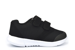 Ascot Boys Twin Velcro Trainers Black