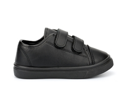 Chatterbox Boys Velcro School Shoes With Memory Foam Insole