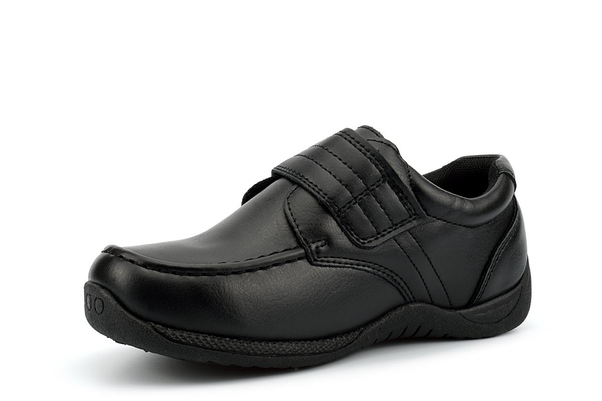 M\u0026S Kids Coated Leather Scuff Resistant