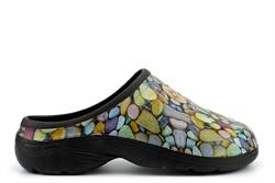 Womens Garden Shoes Pebble Print