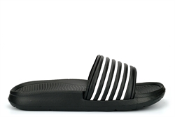 Dr Keller Mens Sliders Black/White