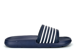 Dr Keller Mens Sliders Navy/White
