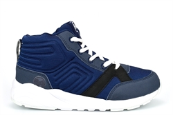 Bubble Gummers Boys High Top Trainers Navy
