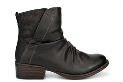 Cipriata Womens Ruched Ankle Boots Black