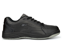 Dek Mens Wide Fit Leather Coated Extra Large Trainers Non Marking Sole Black Sizes 13-14 (E Fitting)