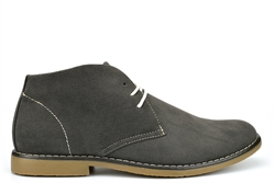Classics HAYDEN Mens Faux Suede Desert Boots Grey
