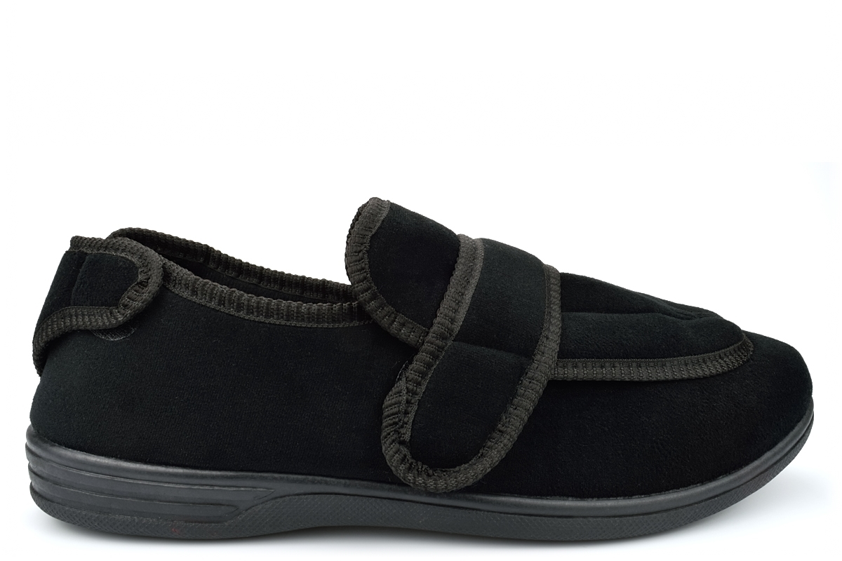 Mens Wide Fit Slippers Mens Extra Large