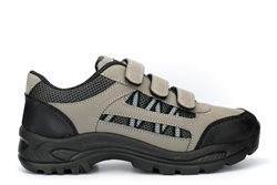 Dek Boys Ascend Trek And Trail Shoes With Triple Touch Fastening Grey/Black/Blue