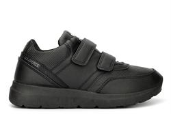 US Brass Urban Street Boys Jerry Touch Fasten School Shoes/Trainers Black