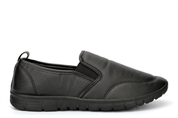 Chix Womens Comfort Casual Shoes With Memory Foam Insole Black
