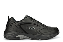 Hi-Tec Mens Blast Lite Super Lightweight Trainers With Non Marking Sole Black/Grey