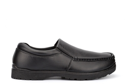 Wild Tribe Boys Stanley Twin Gusset Slip On School Shoes