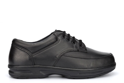Dr Keller Mens Brian Real Leather Casual Shoes Black