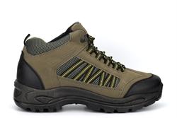 Dek Mens Skelwith Hiking/Walking Ankle Boots Khaki/Yellow