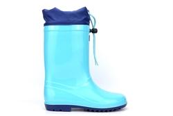 Bejo Kids Waterproof Lace Wellington Boots Aqua Blue