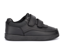 Wild Tribe Boys George Touch Fastening School Shoes