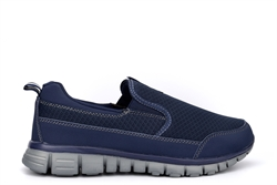 Dek Mens Neptune Superlight Slip On Trainers With Memory Foam Insole Navy