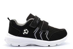 Boys/Girls Superlight Touch Fastening Trainers Black