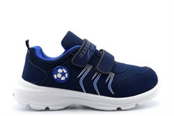 Boys/Girls Superlight Touch Fastening Trainers Navy Blue