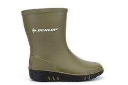 Dunlop Boys/Girls Wellington Boots Green
