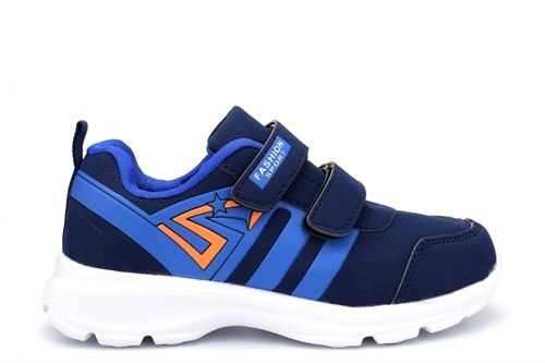 Boys/Girls Superlight Touch Fastening Trainers Blue