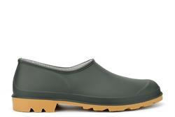 StormWells Womens/Mens Gardener Unisex Garden Shoes/Welly Shoes/Clogs Green