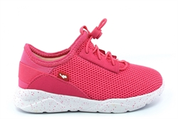 Chipmunks Girls Racer Lightweight Elasticated Lace Trainers Pink