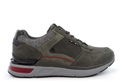Route 21 Mens Memory Foam Lace Leisure Casual Trainers Grey