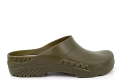 StormWells Womens/Mens Garden Shoes/Clogs With Cushioned Insole Green